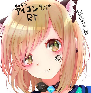 【絵師さんとつながりたい】Twitterで出会える素敵な絵師さん8選の⁺‧☪猫麦 春(ぱる)☪‧⁺@Nu-麦Pさんのイラスト