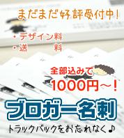 【ブロガー名刺】ブロガーさんが名刺を作るならオススメの【前川企画印刷さん】