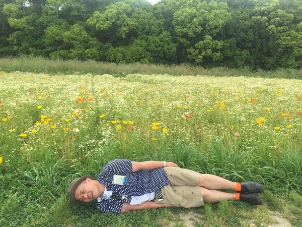 大阪万博公園で横不動してきました