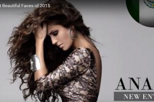 世界で最も美しい顔91位アナイ│The 100 Most Beautiful Faces of 2015