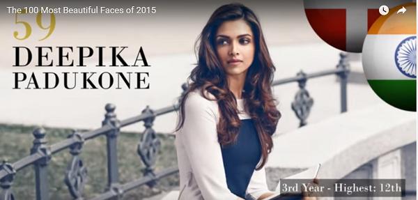 世界で最も美しい顔59位ディーピカー・パードゥコーンdeepika padukone│The 100 Most Beautiful Faces of 2015