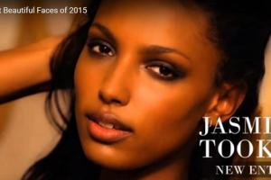 世界で最も美しい顔51位ジャスミン・トオークスjasmine tookes│The 100 Most Beautiful Faces of 2015