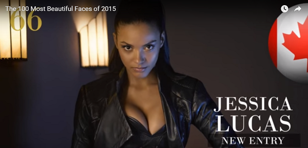 世界で最も美しい顔66位ジェシカ・ルーカスjessica lucas│The 100 Most Beautiful Faces of 2015