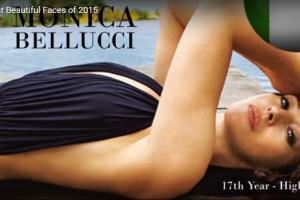 世界で最も美しい顔95位モニカ・ベルッチ│The 100 Most Beautiful Faces of 2015