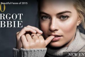 The 100 Most Beautiful Faces of 2015│マーゴットロビー│世界で最も美しい顔100位│2015