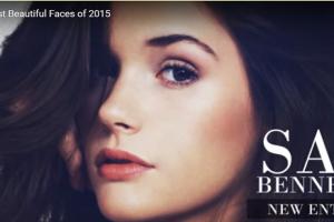 世界で最も美しい顔39位サイベネットsai bennett│The 100 Most Beautiful Faces of 2015