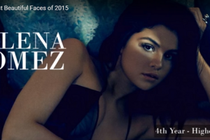 世界で最も美しい顔38位セレーナ・ゴメスselena gomez│The 100 Most Beautiful Faces of 2015