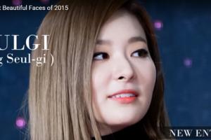 世界で最も美しい顔71位スルギseulgi│Red Velvet│The 100 Most Beautiful Faces of 2015