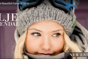 世界で最も美しい顔95位シリエ・ノレンダル│The 100 Most Beautiful Faces of 2015
