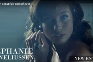 世界で最も美しい顔50位ステファニー・コーネリアセンstephanie corneliussen│The 100 Most Beautiful Faces of 2015