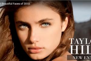 世界で最も美しい顔78位ティラー・ヒル│The 100 Most Beautiful Faces of 2015