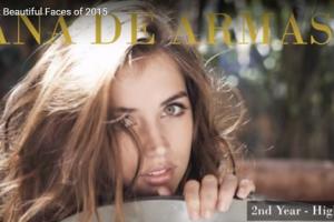 世界で最も美しい顔9位アナ・デ・アルマスana de armas│The 100 Most Beautiful Faces of 2015