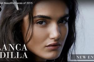 世界で最も美しい顔23位ブランカ・パディラblanca padilla│The 100 Most Beautiful Faces of 2015