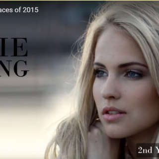 世界で最も美しい顔21位エミリーemilie nereng│The 100 Most Beautiful Faces of 2015