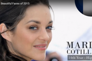 世界で最も美しい顔18位マリオン・コティヤールmarion cotillard│The 100 Most Beautiful Faces of 2015