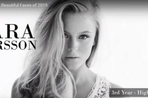 世界で最も美しい顔12位ザラ・ラーソンZara Larsson│The 100 Most Beautiful Faces of 2015