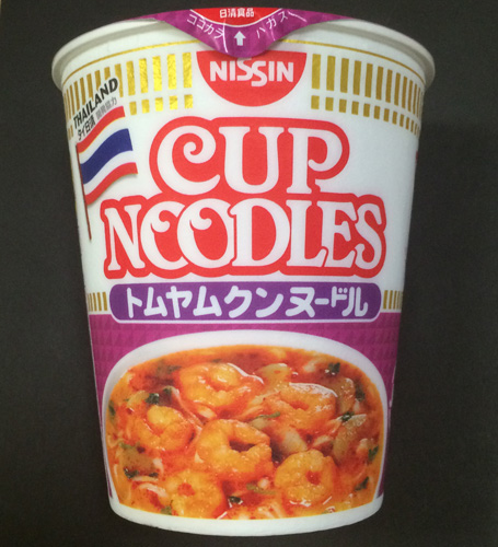 Cup Noodleトムヤンクンヌードル