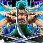 ワンピーストレクルのゾロ☆5
