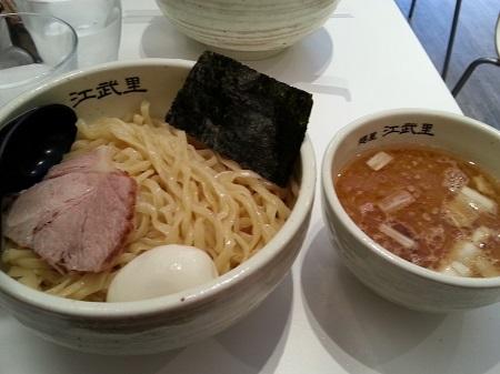浅草麺屋江武里のつけ麺