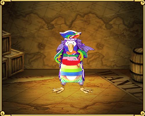 ワンピーストレクル新キャラ虹色海賊ペンギン