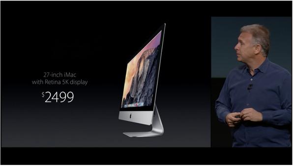【apple速報】Apple - iMac 5Kディスプレイモデル発表【iMac with Retina】