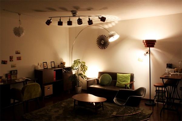 空間を彩る光の加護!照明の種類をまとめてみた
