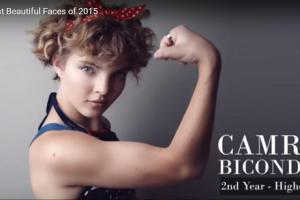 世界で最も美しい顔52位キャムレン・ビコンドヴァ│The 100 Most Beautiful Faces of 2015