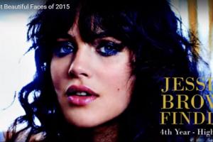 世界で最も美しい顔54位ジェシカ・ブラウン・フィンドレイ│The 100 Most Beautiful Faces of 2015