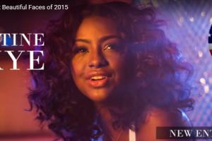 世界で最も美しい顔42位ジャスティン・スカイjustine skye│The 100 Most Beautiful Faces of 2015