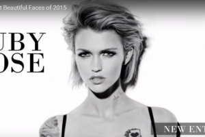 世界で最も美しい顔46位ルビー・ローズruby rose│The 100 Most Beautiful Faces of 2015