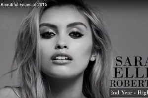 世界で最も美しい顔41位サラ・エレンsarah ellen│The 100 Most Beautiful Faces of 2015