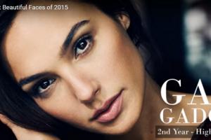 世界で最も美しい顔2位ガル・ガドットgal gadot│The 100 Most Beautiful Faces of 2015