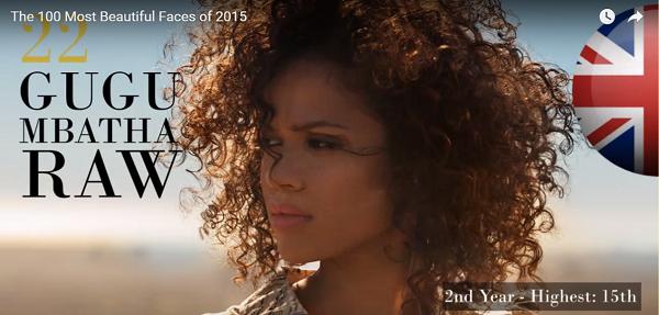 世界で最も美しい顔22位ググ・バサ=ローgugumbatharaw│The 100 Most Beautiful Faces of 2015