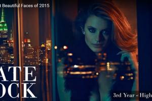 世界で最も美しい顔33位ケイト・ボックkate bock│The 100 Most Beautiful Faces of 2015