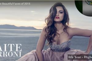 世界で最も美しい顔20位メイト・ペローニMaite Perroni│The 100 Most Beautiful Faces of 2015