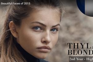 世界で最も美しい顔28位thylane blondeau│The 100 Most Beautiful Faces of 2015