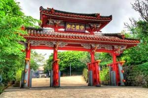 首里城に行くなら一度は見たい御開門の儀式