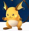 【ポケモンGO】新潟県のレアポケモンや巣の出現場所まとめのライチュウ