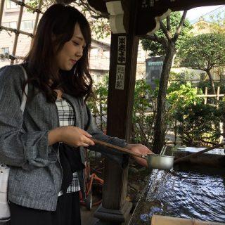 【神さまカタログ】女子力アップ仲直りの神様白山神社に看板娘モデル村長たんが取材してきた