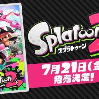 スプラトゥーン2の発売日が7月21日海の日と判明|ゲーム内容