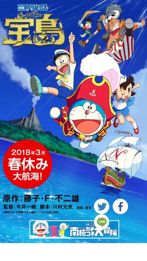 劇場版ドラえもん新作宝島が完全新作|監督の今井一暁さんの作品とは