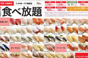 松本市南松本かっぱ寿司食べ放題で早く食べる方法を発見