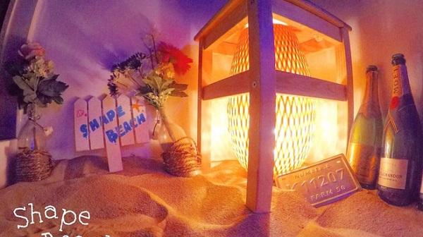 今話題の全国で行ける砂場バー全国版│インスタ映えシェイプビーチ京都店